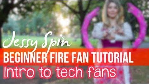 Fire Fan Tutorial 5